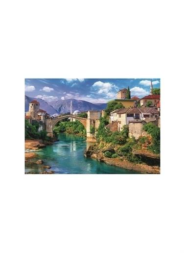 Art Puzzle Art Puzzle Old Brıdge In Mostar Bosna Hersek 500 Parça Puzzle Renksiz
